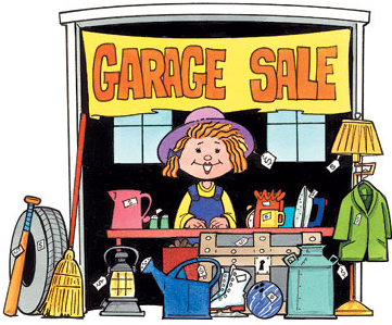 TRAC Center Indoor & New Outdoor Garage Sale