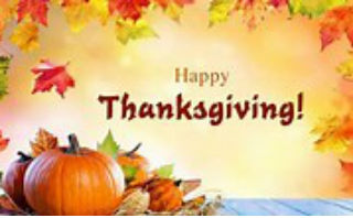 TRAC Center will be Closed in Observance of Thanksgiving